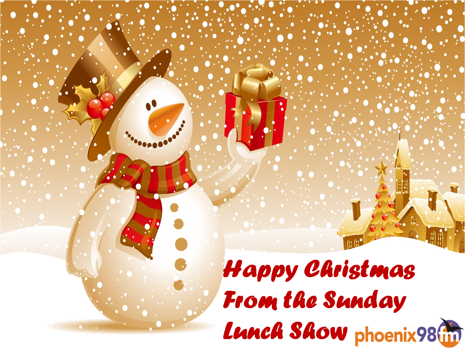 here is wishing each and everyone a merry christmas and happy new year - Christmas Sunday