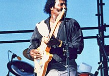 Albert Collins playing live in 1990