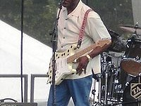 Guy performing at the Bonnaroo Music Festival in 2006