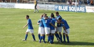 Billericay v Truro - 2nd goal celebration