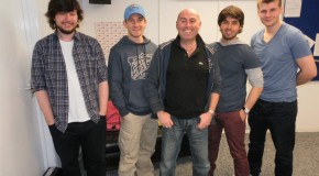 The 87 return to the phoenix fm studio
