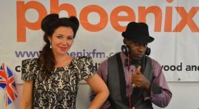 Cushh live on Phoenix FM