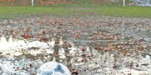 Waterlogged Pitch