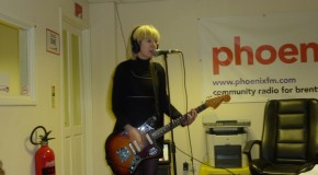 The Lovely Eggs in session at Phoenix FM.  A little while ago …