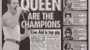 The Top 100 of the 80′s Part 3 and Queen at Live Aid