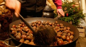 Brrr! An ideal day for roast chestnuts