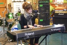 Imogen Heap at the Creative Sessions in 2011