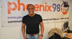Ray Lewis from The Drifters performs live in the studio – what a voice!