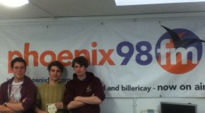 The Quickfires – live on Phoenix FM!