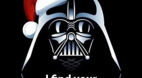 Don't be Darth it's CHRISTMAS
