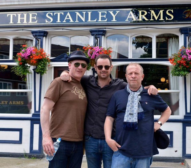 Geoff Bell, Danny Dyer and Eddie
