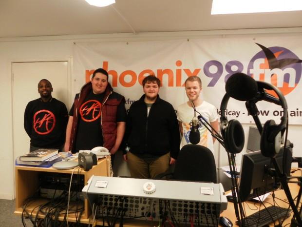 Team Recovery in Phoenix FM`s Studio 1