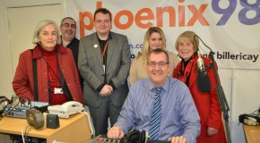 #TimeToTalk Day on Phoenix FM