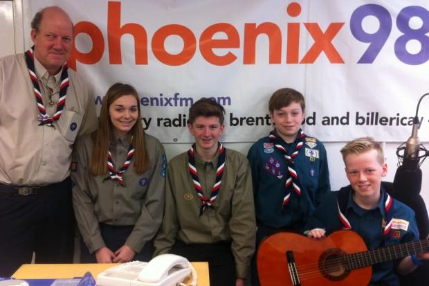 Simon, Rebecca, Finlay, Max & Billy