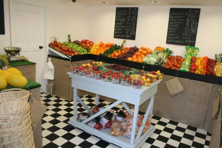 Fresh Fruit and Veg on sale at The Greengrocers at Writtle Road Nursery. (Pic. Brentwood Weekly News)