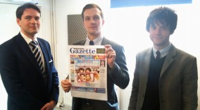 Nev, Alan & Chris from the Brentwood Gazette 08-04-14