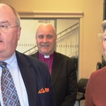 Eric Pickles, Rt Revd Stephen Cottrell, Bishop of Chelmsford, and Alison Davies