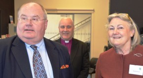 Eric Pickles and The Bishop of Chelmsford Open Essex Savers in Brentwood