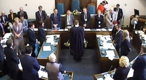 Annual Council Meeting – Barry Aspinell elected Leader, Vicky Davies elected Mayor