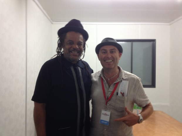 Tony with Astro from UB40