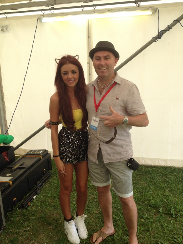 Lydia Lucy with Tony