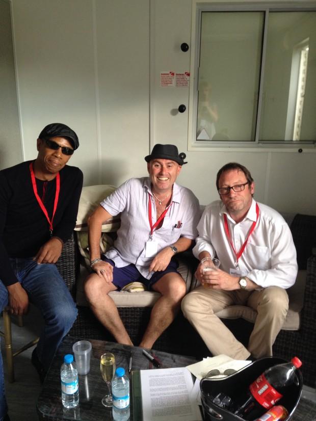 Simon and Oscar from OCS with Tony