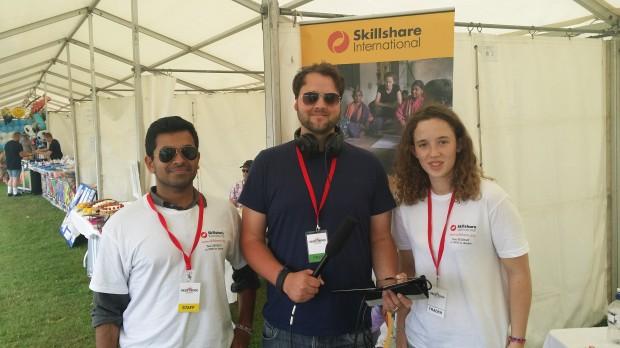 2014-07-20 Brentwood Festival - Skillshare with Brad (Steve R)