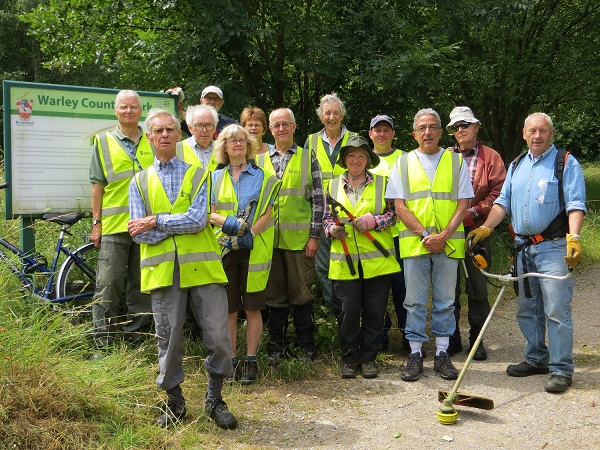 Brentwood Countryside Management Volunteers