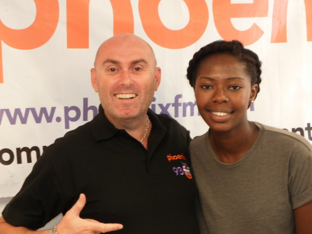 The Talented Akua and me (not so talented)
