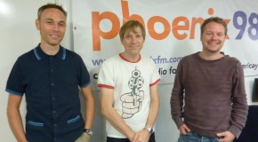 The Everglows live on Phoenix FM