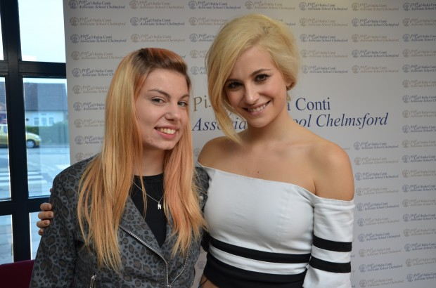 2014-10-12 Pixie Lott with Nikki Mills 03