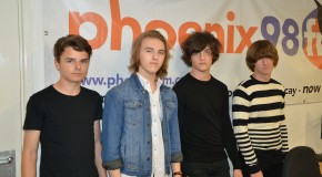 The Scarletts live on Phoenix FM