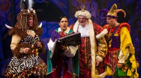 Oh No He Didn't!  The Queen's Theatre's Sleeping Beauty reviewed