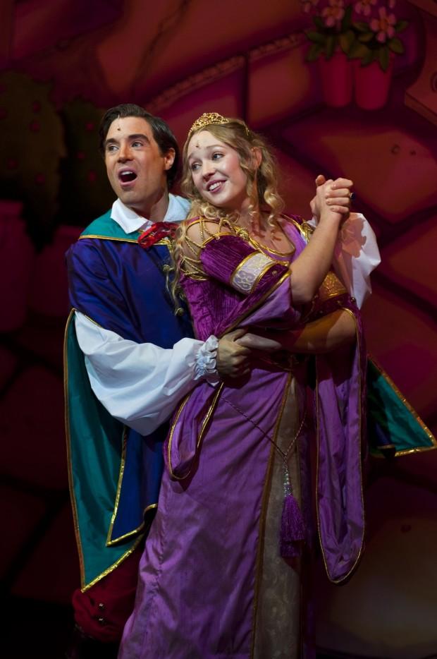 Thomas Sutcliffe, Rachel Dawson (Sleeping Beauty, Queen's Theatre, Hornchurch, 2014) by Mark Sepple