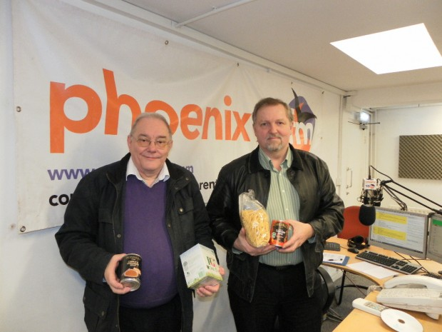 Robin and Jem from Brentwood Foodbank