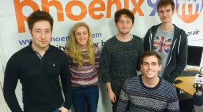 The Novelty live on Phoenix FM