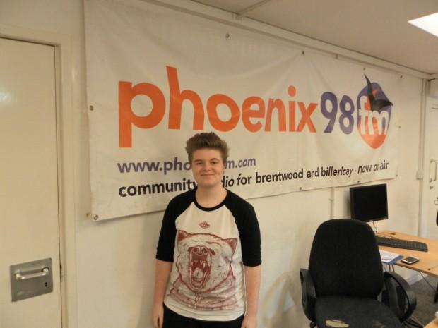 Charlie Leavy in Studio 1