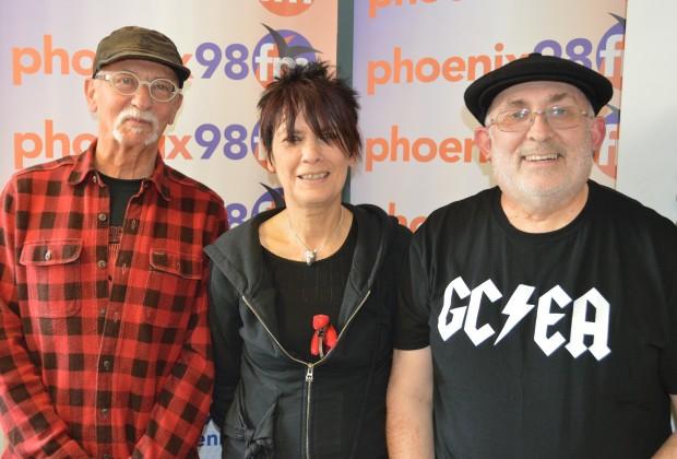 Brian, Hazel and John