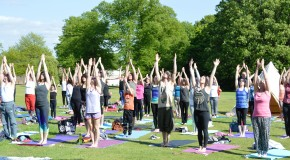 Wellbeing Yoga Brentwood's Yogathon in aid of Brentwood Mind