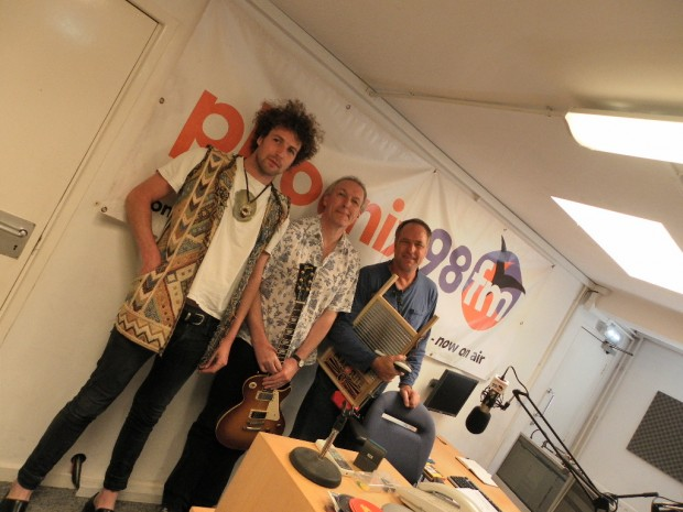 The Gutter Brothers in Phoenix fm studio 1