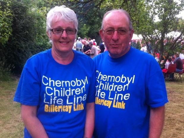 CCLL BBQ 26 06 15 - Gaynor & Alastair
