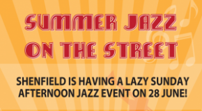 Free Shenfield Jazz Festival on Sunday 28th June