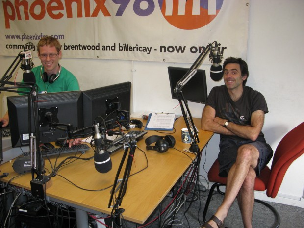 2015-07-23 Ronnie O'Sullivan and Chris Hood