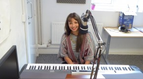Rosie Vanier live in the studio