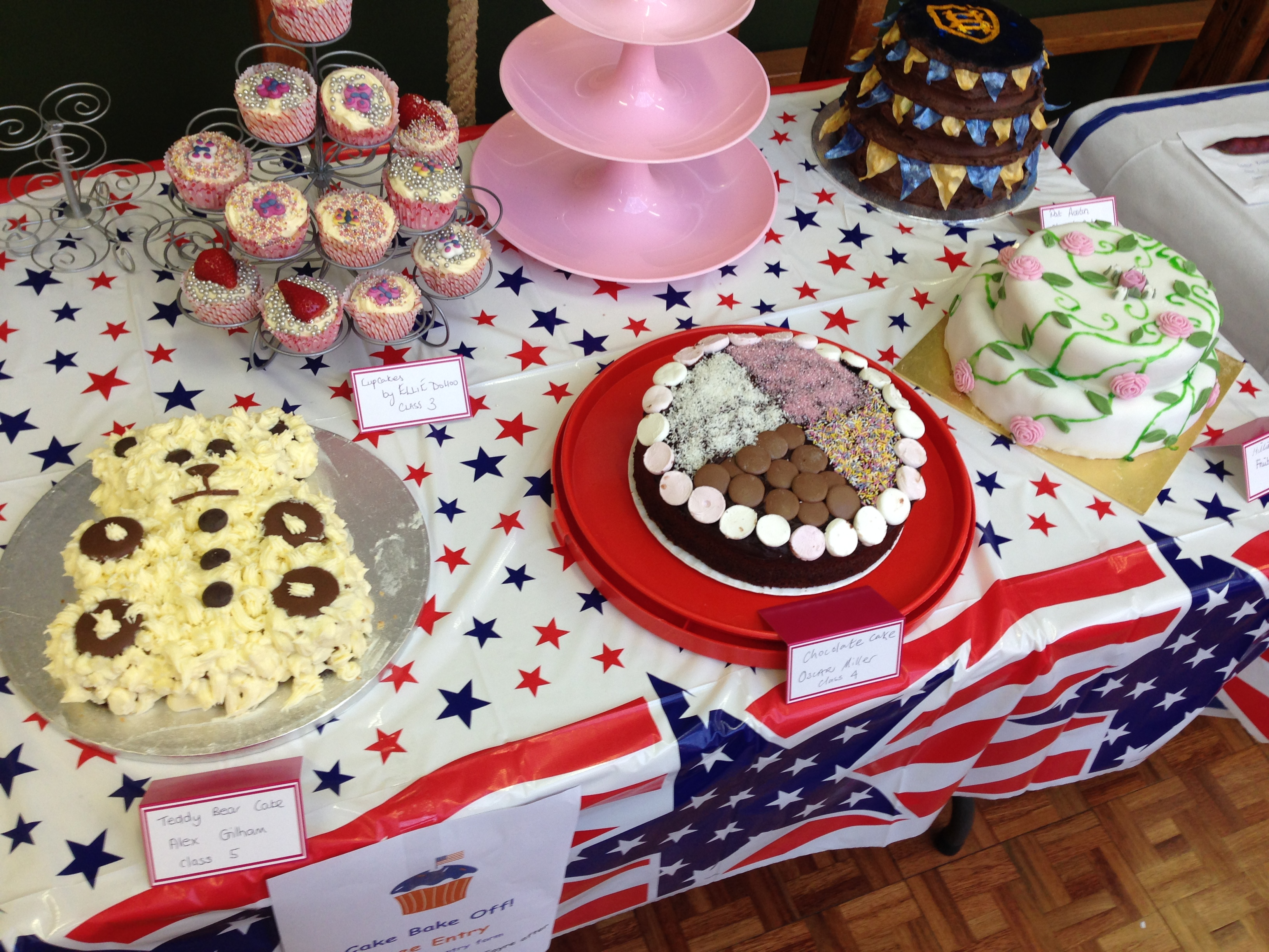 St Helens School Fayre - judging the Bake Off! - Phoenix FM
