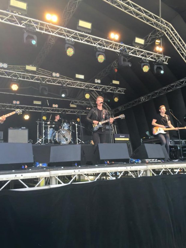 'Looking for Liam' on the main Brentwood Festival Stage