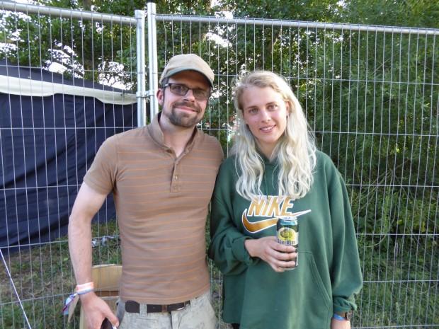 Nick with Marika Hackman