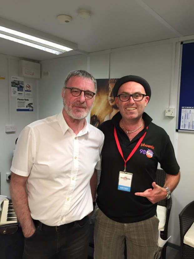 Back Stage with Steve Harley