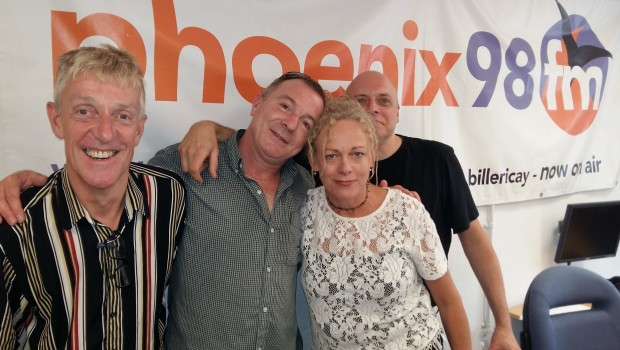 Paul Carnell, Dwayne Brazier, Lucia Holm and Darren Woodford - Sunscreem