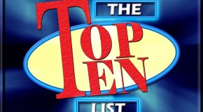 Monday's Top Ten From When